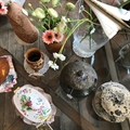A selection of French rustic pottery