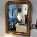 Louis-Philippe gilt-wood mirror C1900. From France